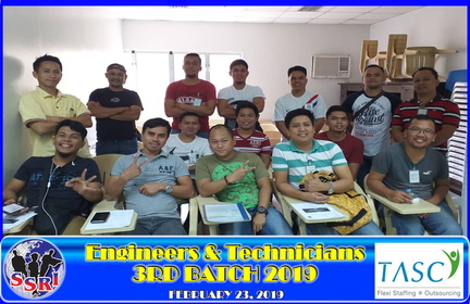 TASC-3 BATCH ENGINEERS